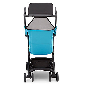 Delta Children Clutch Travel Stroller, Blue, large