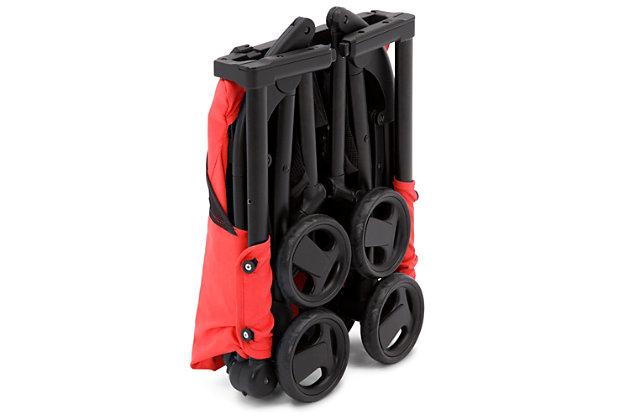 Delta Children Clutch Travel Stroller, Red, large