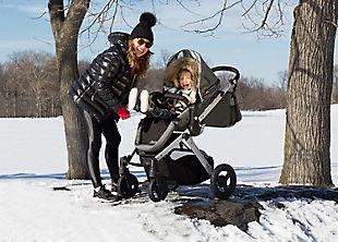 Delta Children Jeep® Sport Utility All-Terrain Stroller, Gray, large