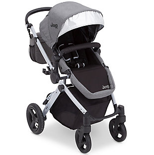 Delta Children Jeep® Sport Utility All-Terrain Stroller, Gray, large