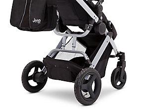 Delta Children Jeep® Sport Utility All-Terrain Stroller, Metallic/Black, large