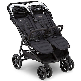 Delta Children Jeep® Destination Ultralight Side x Side Double Stroller, , rollover