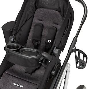 Maxi-Cosi Lila Modular Stroller, Black, large