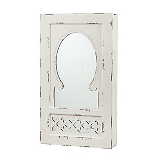 Southern Enterprises Polara Wall Mount Jewelry Mirror, , large