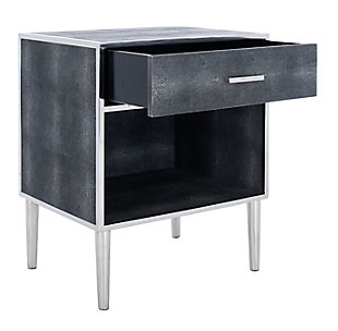 Safavieh Tammy Faux Shagreen Nightstand, , large