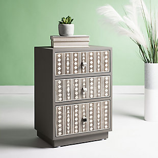 Safavieh Rhi Bone Inlay Nightstand, , rollover
