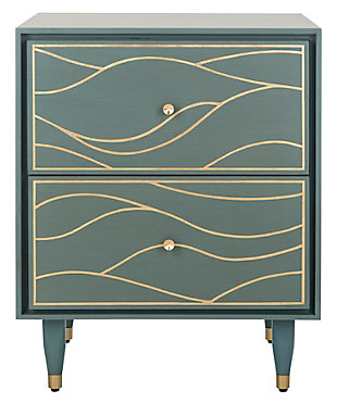 Safavieh Broderick Wave Nightstand, , large