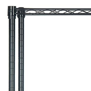 Safavieh Alpha 5 Tier Chrome Wire Shelving, , large