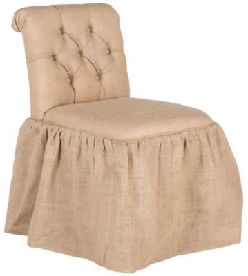 Safavieh Allie Vanity Chair, Beige, large