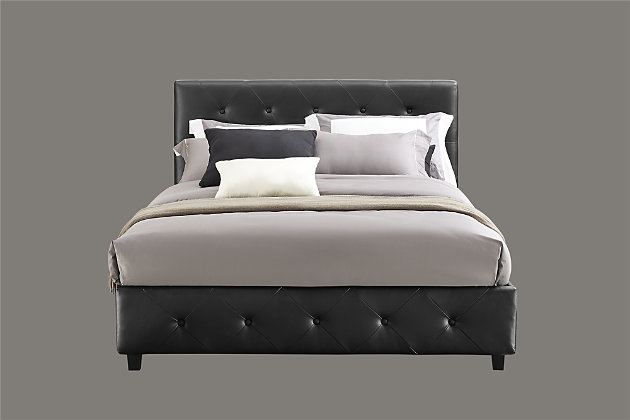 DHP Atwater Living Dana Full Upholstered Bed, , large