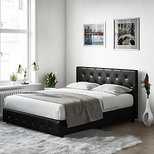 DHP Atwater Living Dana Full Upholstered Bed, , rollover