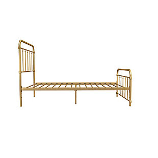 DHP Atwater Living Wyn Twin Metal Gold Bed, , rollover