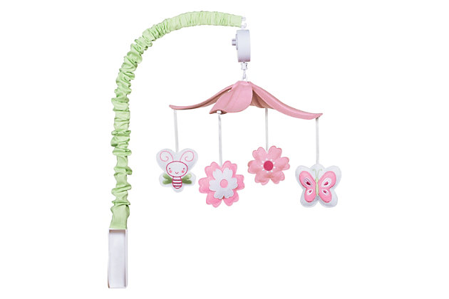 Trend Lab Floral Musical Mobile, , large