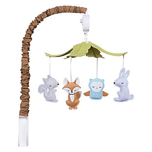 Trend Lab Woodland Musical Mobile, , rollover