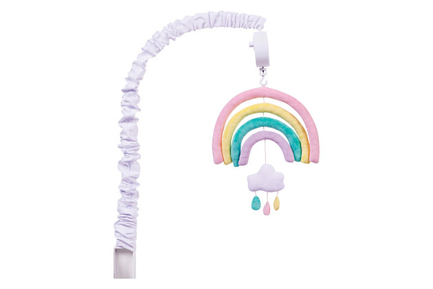 Trend Lab Rainbow Musical Mobile, , large
