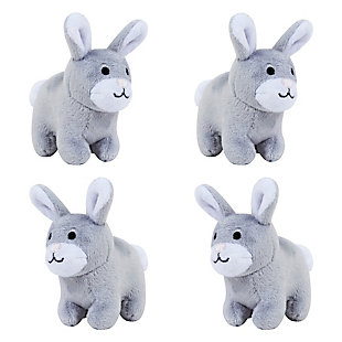 Trend Lab Gray Bunny Musical Mobile, , rollover