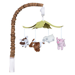 Trend Lab Baby Barnyard Musical Mobile, , large