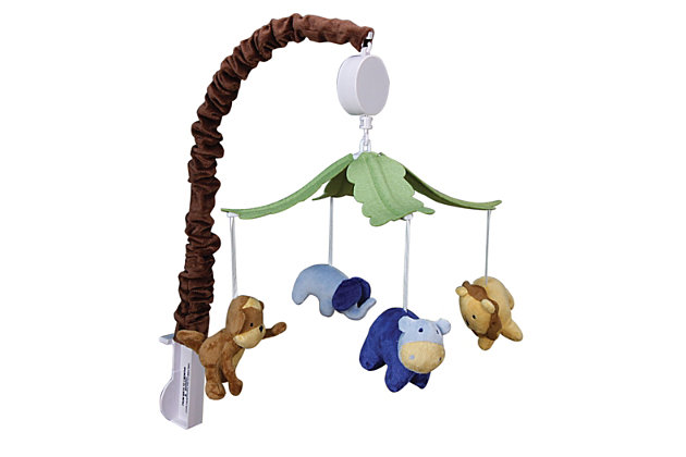 Trend Lab Jungle 123 Musical Mobile, , large
