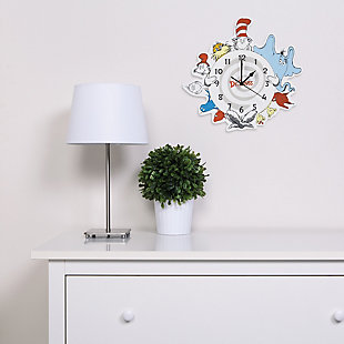 Trend Lab Seuss Friends Wall Clock, , rollover