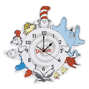 Trend Lab Seuss Friends Wall Clock, , large