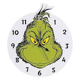 Trend Lab The Grinch Wall Clock, , large