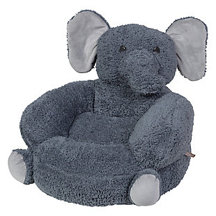 Trend Lab Children's Plush Elephant Character Chair, , rollover