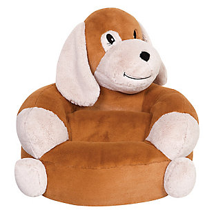 Trend Lab Children's Plush Puppy Character Chair, , rollover