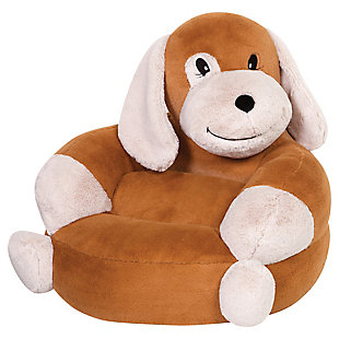 Trend Lab Children's Plush Puppy Character Chair, , large