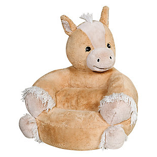 Trend Lab Children's Plush Pony Character Chair, , rollover