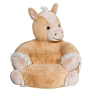 Trend Lab Children's Plush Pony Character Chair, , large
