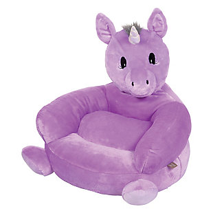 Trend Lab Children's Plush Unicorn Character Chair, , large