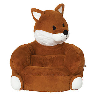 Trend Lab Children's Plush Fox Character Chair, , rollover