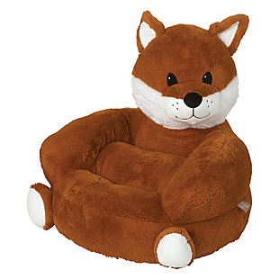 Trend Lab Children's Plush Fox Character Chair, , large