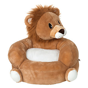 Trend Lab Children's Plush Lion Character Chair, , rollover
