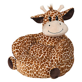 Trend Lab Children's Plush Giraffe Character Chair, , large
