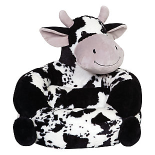 Trend Lab Children's Plush Cow Character Chair, , rollover