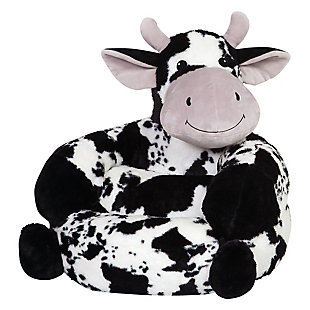 Trend Lab Children's Plush Cow Character Chair, , large