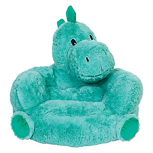 Trend Lab Children's Plush Dinosaur Character Chair, , rollover