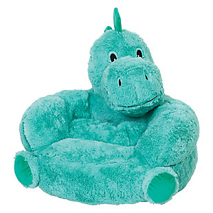Trend Lab Children's Plush Dinosaur Character Chair, , large