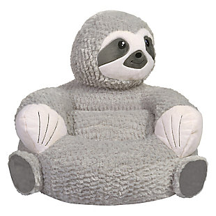 Trend Lab Sloth Plush Character Chair, , rollover