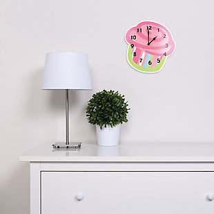 Trend Lab Cupcake Wall Clock, , rollover