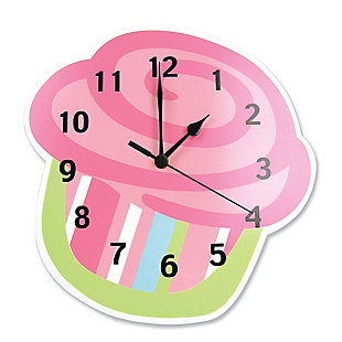 Trend Lab Cupcake Wall Clock, , large