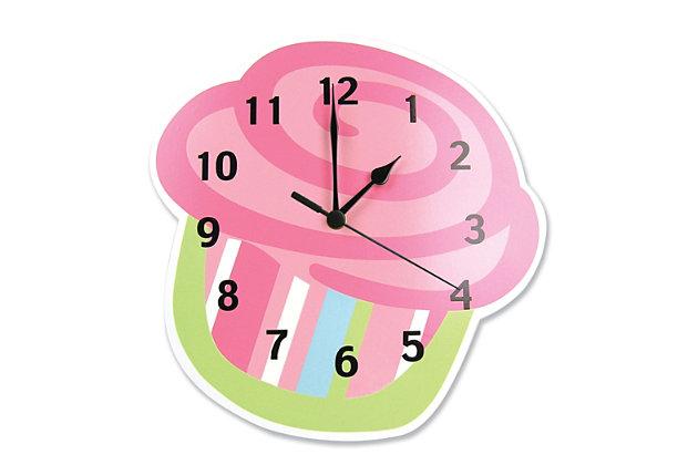 Trend Lab Cupcake Wall Clock, , large