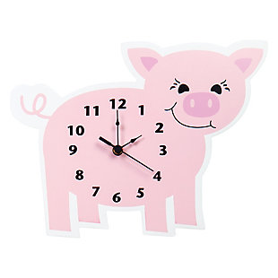 Trend Lab Baby Barnyard Piglet Wall Clock, , large