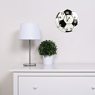 Trend Lab Soccer Ball Wall Clock, , rollover
