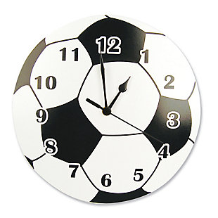 Trend Lab Soccer Ball Wall Clock, , large