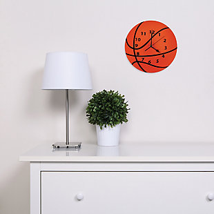 Trend Lab Basketball Wall Clock, , rollover
