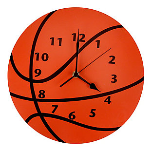 Trend Lab Basketball Wall Clock, , large