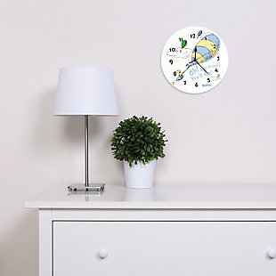 Trend Lab Oh the Places You'll Go Blue Wall Clock, , large
