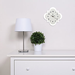 Trend Lab Dove Gray Wall Clock, , rollover